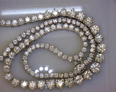 14kW 16ctw J-K I1 Diamond (116) Necklace