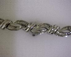 10kW 1.00ctw I2-3 Diamond Bracelet