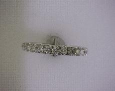 14kW 0.42ctw G-H VS Diamond (14) Wedding Band